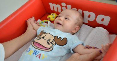 Masaža beba – taktilna stimulacija